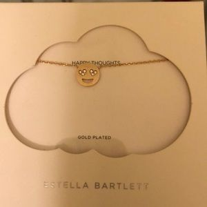 Nordstrom Jewelry - Gold heart eye emoji necklace